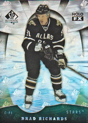 2008-09 SP Authentic Holoview FX #FX71 Mike Richards