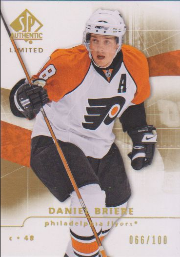 2008-09 SP Authentic Limited #109 Daniel Briere N