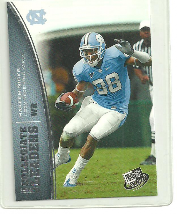 2009 Press Pass #74 Hakeem Nicks LL