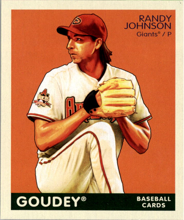 2009 Upper Deck Goudey Mini Green Back #4 Randy Johnson