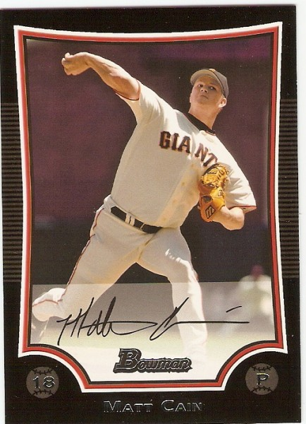 2009 Bowman #171 Matt Cain