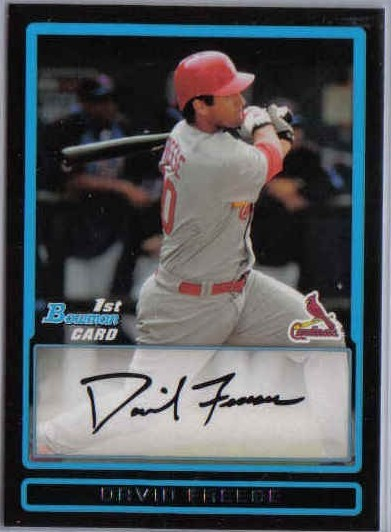 2009 Bowman Prospects #BP38 David Freese