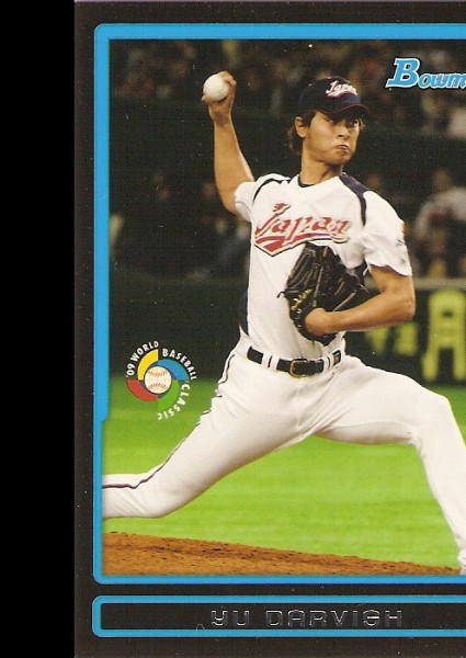 2009 Bowman WBC Prospects #BW1 Yu Darvish