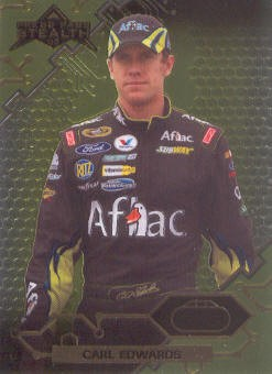 2009 Press Pass Stealth Chrome #10 Carl Edwards