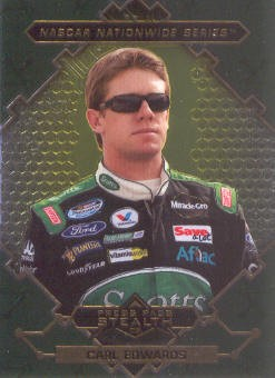 2009 Press Pass Stealth Chrome #44 Carl Edwards NNS