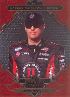 2009 Press Pass Stealth Chrome #46 Kevin Harvick NNS
