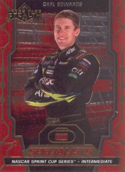 2009 Press Pass Stealth Chrome #76 Carl Edwards S