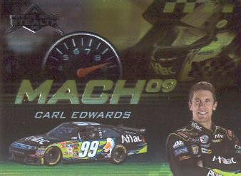 2009 Press Pass Stealth Mach 09 #M6 Carl Edwards