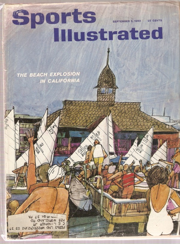 1962 Sports Illustrated #9-03 California Beaches