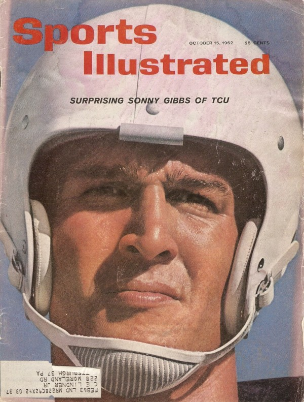 1962 Sports Illustrated #10-15 Sonny Gibbs