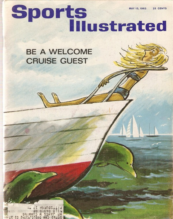 1963 Sports Illustrated #5-13 Boat