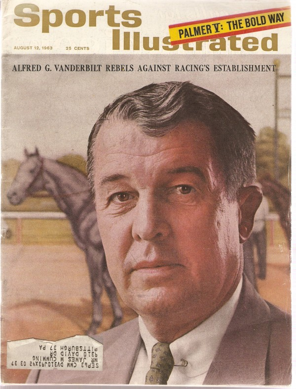 1963 Sports Illustrated #8-12 Alfred G. Vanderbilt