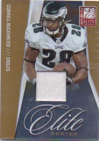 2009 Donruss Elite Series Jerseys #12 Correll Buckhalter/299