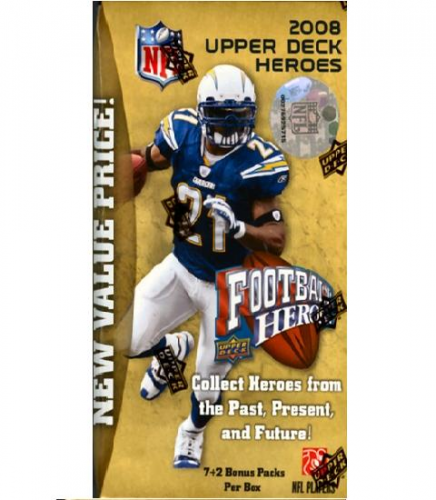 2008 Upper Deck Heroes Football Retail Box