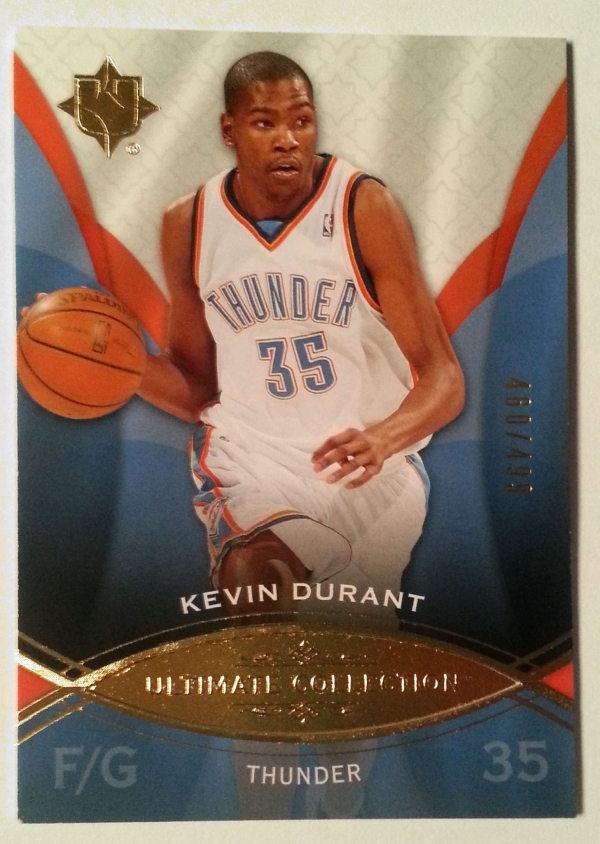2008-09 Ultimate Collection #22 Kevin Durant