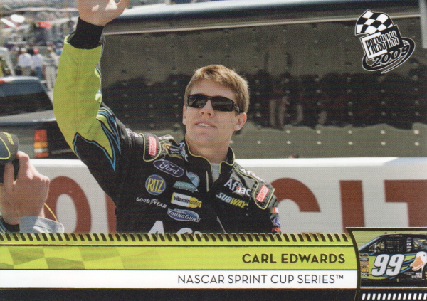2009 Press Pass Gold #128 Carl Edwards