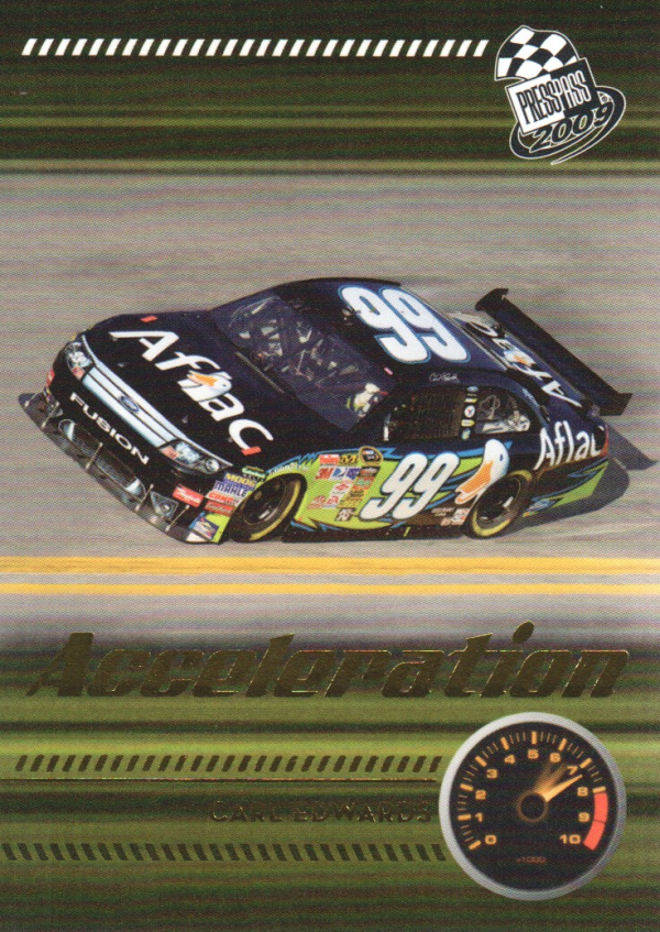 2009 Press Pass Gold #212 Carl Edwards' Car A