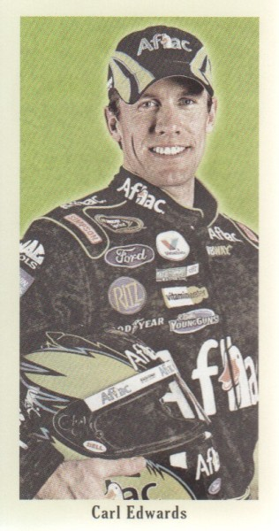 2009 Press Pass Pocket Portraits #P7 Carl Edwards