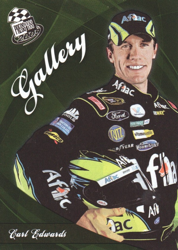 2009 Press Pass NASCAR Gallery #NG5 Carl Edwards