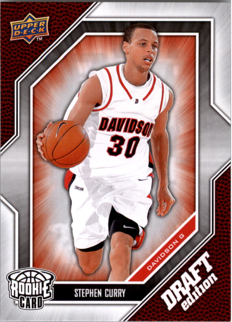 2009-10 Upper Deck Draft Edition #34 Stephen Curry SP