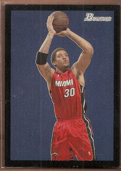 2009-10 Bowman 48 Black #40 Michael Beasley