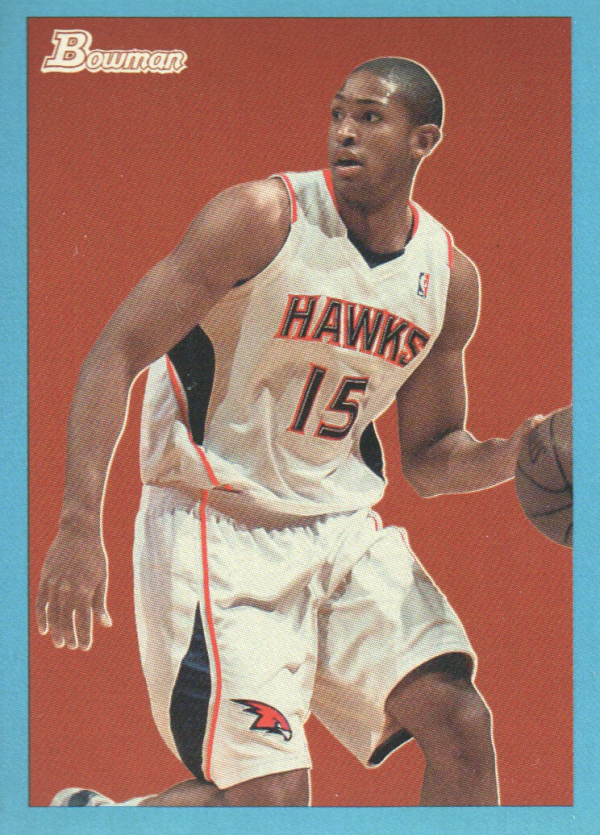 2009-10 Bowman 48 Blue #1 Al Horford