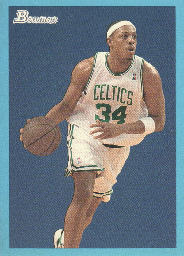 2009-10 Bowman 48 Blue #4 Paul Pierce