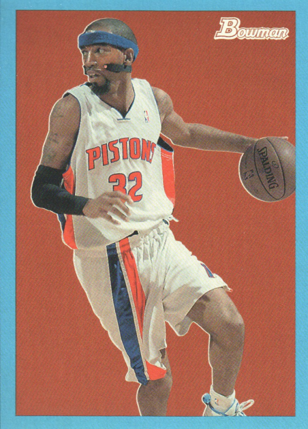 2009-10 Bowman 48 Blue #21 Richard Hamilton