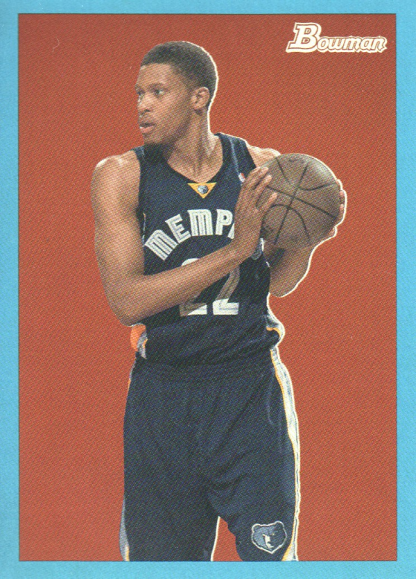 2009-10 Bowman 48 Blue #38 Rudy Gay