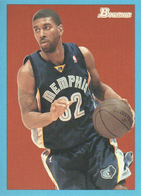 2009-10 Bowman 48 Blue #39 O.J. Mayo