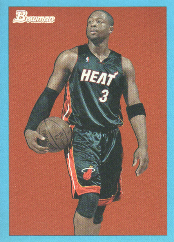 2009-10 Bowman 48 Blue #41 Dwyane Wade