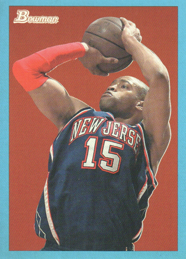 2009-10 Bowman 48 Blue #48 Vince Carter