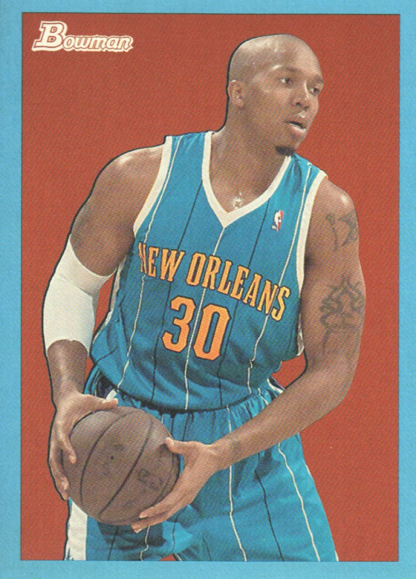2009-10 Bowman 48 Blue #50 David West