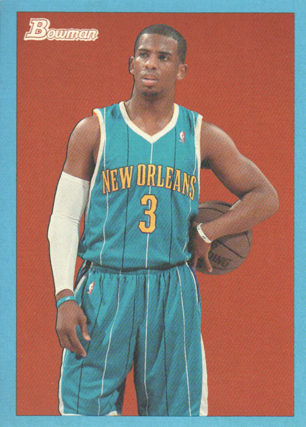 2009-10 Bowman 48 Blue #51 Chris Paul