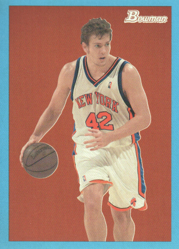 2009-10 Bowman 48 Blue #53 David Lee