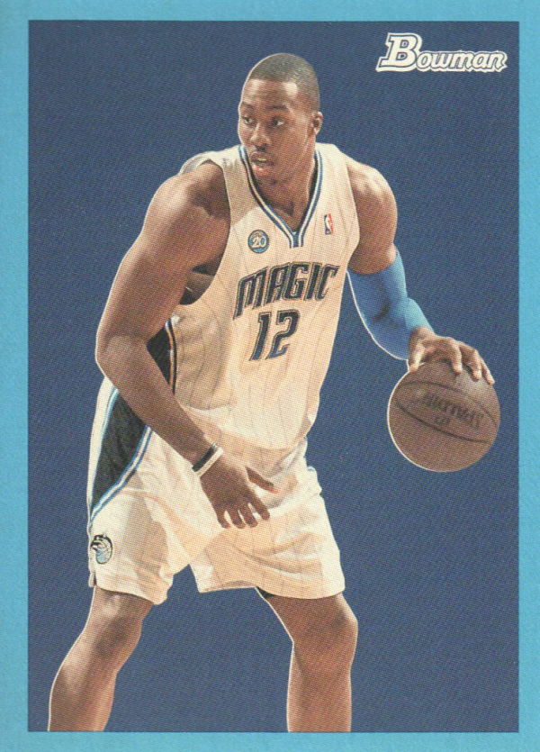 2009-10 Bowman 48 Blue #56 Dwight Howard