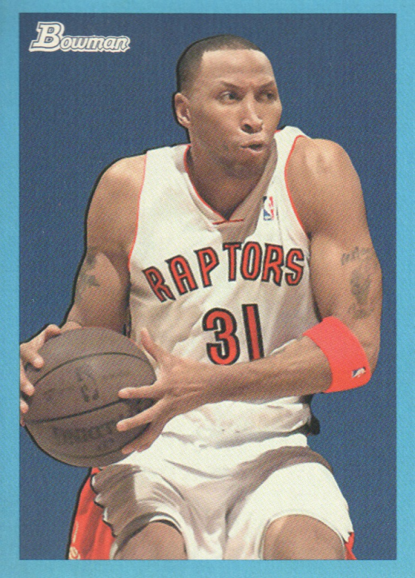 2009-10 Bowman 48 Blue #75 Shawn Marion