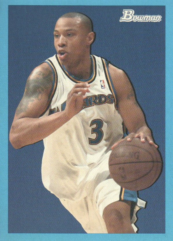 2009-10 Bowman 48 Blue #78 Caron Butler