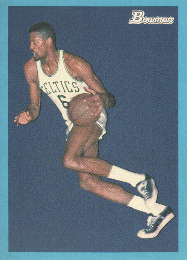 2009-10 Bowman 48 Blue #82 Bill Russell