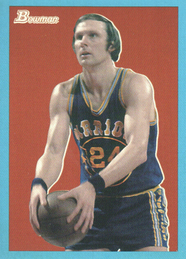 2009-10 Bowman 48 Blue #85 Rick Barry