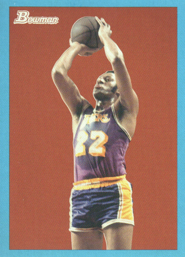 2009-10 Bowman 48 Blue #86 Elgin Baylor