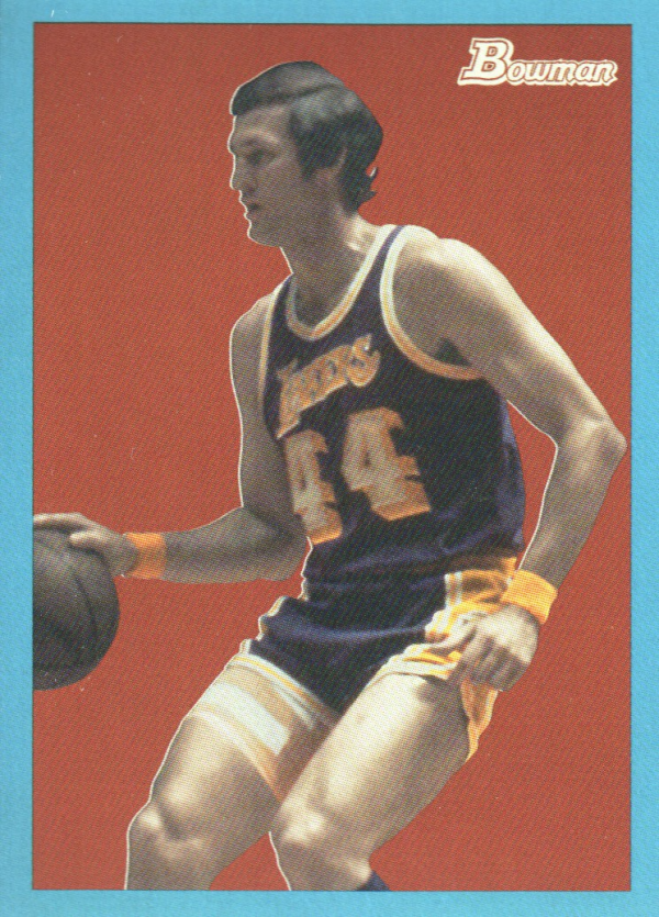 2009-10 Bowman 48 Blue #87 Jerry West