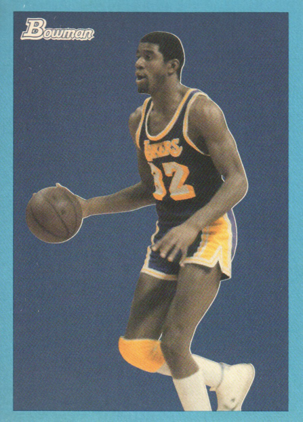 2009-10 Bowman 48 Blue #88 Magic Johnson