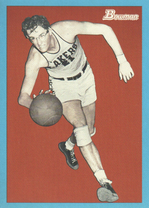 2009-10 Bowman 48 Blue #90 George Mikan