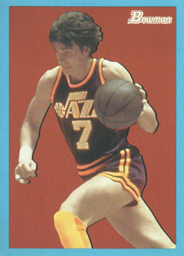 2009-10 Bowman 48 Blue #91 Pete Maravich