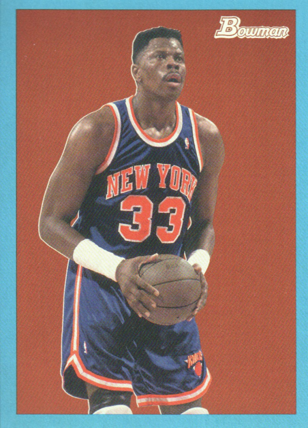 2009-10 Bowman 48 Blue #92 Patrick Ewing