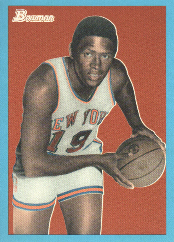 2009-10 Bowman 48 Blue #93 Willis Reed