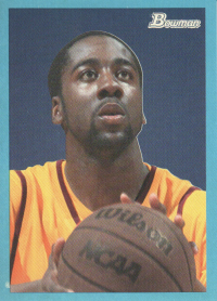 2009-10 Bowman 48 Blue #104 James Harden front image