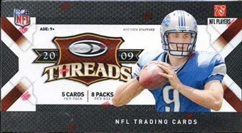 2009 Donruss Threads Football Retail Box