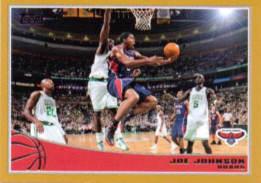 2009-10 Topps Gold #1 Joe Johnson